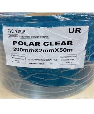 Picture of POLAR STRIP CURTAIN 200MM X 2MM X 50M - STANDARD CLEAR