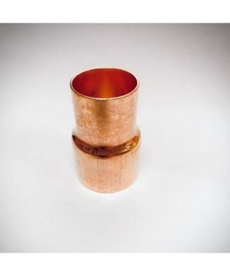 "Picture of 3 5/8"" X 3 1/8"" COPPER REDUCER"