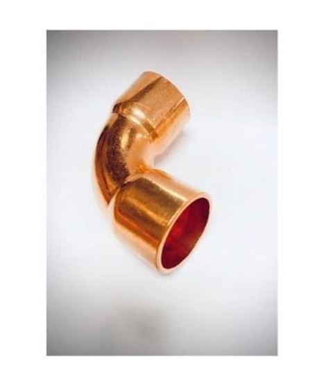 "Picture of 1 1/8"" R410 COPPER ELBOW 90° LONG RADIUS"