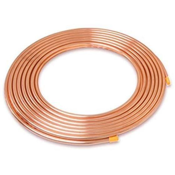 """Picture of 1/4"""" X 0.81MM X 15M COPPER TUBING G21"""