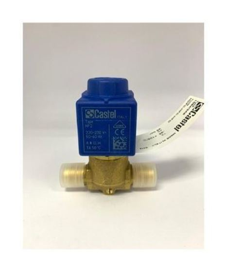 """Picture of 3/8"""" CASTEL SOLENOID VALVE C/W COIL 1064/3A6 (FLARE)"""