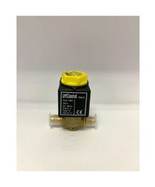 "Picture of 1/4"" CASTEL SOLENOID VALVE C/W COIL 1020/2A7 (FLARE)"