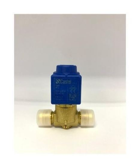 """Picture of 1/2"""" CASTEL SOLENOID VALVE C/W COIL 1064/4A6 (FLARE)"""