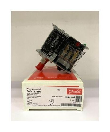 Picture of KP5 DANFOSS HIGH SIDE PRESSURE CONTROL (MANUAL) -060-117391