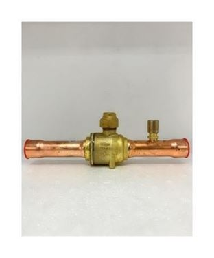 """Picture of GBC18S-009G7054 DANFOSS BALL VALVE 3/4"""" WITH ACCESS PORT (ODF)"""