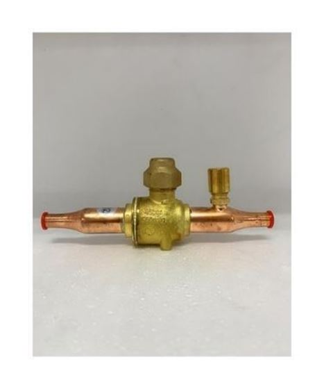 "Picture of GBC6S-009G7050 DANFOSS BALL VALVE 1/4"" WITH ACCESS PORT (ODF)"