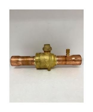 """Picture of GBC35S-009G7057 DANFOSS BALL VALVE 1 3/8"""" WITH ACCESS PORT (ODF)"""