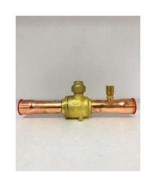 """Picture of GBC22S-009G7055 DANFOSS BALL VALVE 7/8"""" WITH ACCESS PORT (ODF)"""