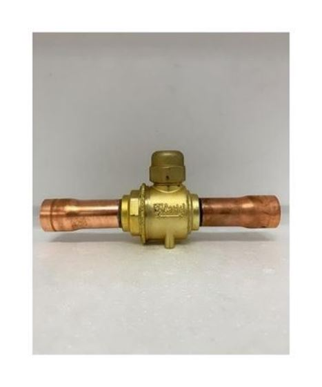 """Picture of CASTEL BALL VALVE 7/8"""" 6590/7 (ODF)"""