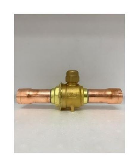 "Picture of CASTEL BALL VALVE 1 1/8"" 6570/9 (ODF)"