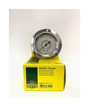Picture of MR-205-DS-MULTI-16 BAR REFCO LOW SIDE OIL PRESSURE GAUGE (BACK CONN)