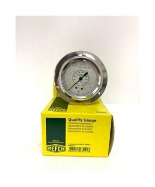 Picture of MR-305-DS-MULTI-35 BAR REFCO HIGH SIDE OIL PRESSURE GAUGE (BACK CONN)