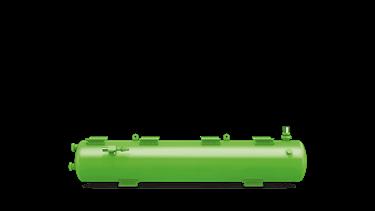 Picture of F 1052T BITZER HORIZONTAL LIQUID RECEIVERS C/W ARV