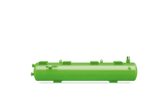 Picture of F 2202N BITZER HORIZONTAL LIQUID RECEIVERS C/W ARV