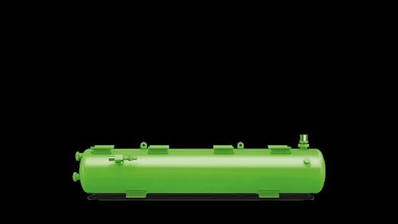 Picture of F 562N BITZER HORIZONTAL LIQUID RECEIVERS C/W ARV